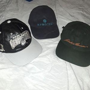 Eddie Bauer(and others) snapback hat bundle 0e010733c7c3